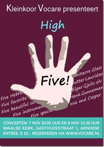 Concert High FIve 2015